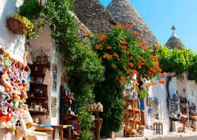 Alberobello - in fiore